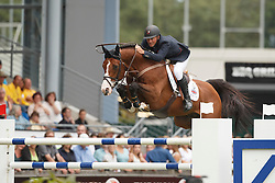Clee Joe, (GBR), Utamaro D Ecaussines<br /> Individual Final Competition round 2<br /> FEI European Championships - Aachen 2015<br /> © Hippo Foto - Dirk Caremans<br /> 23/08/15