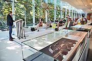 Nederland, Nijmegen, 26-6-2020  In museum het Valkhof werd vandaag een klein deel van een belangrijke archeologische vondst getoond. Het gaat om een Keltisch wagengraf, gevonden in de gemeente Heumen met veel metalen objecten . Een deel daarvan is nog in restauratie en conservatie . De resten zijn ontdekt door amateurbodemonderzoekers die met metaal detectoren de grond aftasten. Ze waren daarna illegaal opgegraven en slecht behandeld. Toch zijn ze opgedoken en overgedragen aan het Rijk . Jos Bazelmans van de RCE hekelt de werkwijze van de vinders .Foto: Flip Franssen