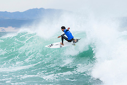 Wildcard Michael February of South Africa finished equal 25th in the Corona Open J-Bay after placing second to Current No. 1 on the Jeep Leaderboard Matt Wilkinson of Australia in Heat 2 of Round Two at Supertubes, Jeffreys Bay, South Africa.