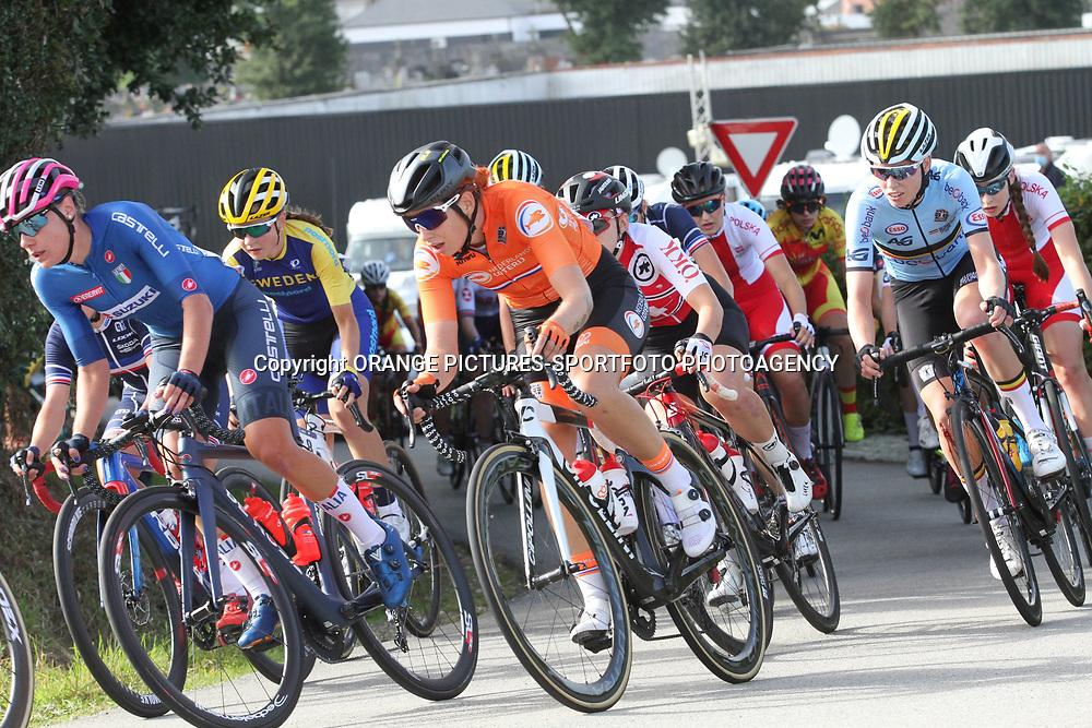 26-08-2020: Wielrennen: EK wielrennen: Plouay<br /> Maaike Boogaard (Netherlands / Team Ale BTC Ljubljana)26-08-2020: Wielrennen: EK wielrennen: Plouay