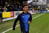 Youth team player during the EFL Sky Bet League 1 match between AFC Wimbledon and Barnsley at the Cherry Red Records Stadium, Kingston, England on 19 January 2019.