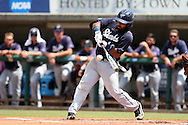 03 June 2016: Nova Southeastern's Andres Visbal. The Nova Southeastern University Sharks played the Millersville University Marauders in Game 13 of the 2016 NCAA Division II College World Series  at Coleman Field at the USA Baseball National Training Complex in Cary, North Carolina. Nova Southeastern won the first game of the best of three Championship Series 2-1.
