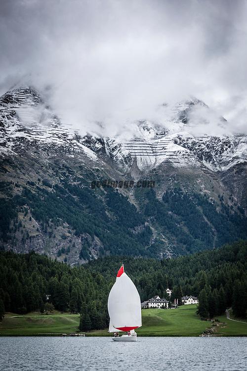 Fleet Race Battle im Engadin<br /> Blu26 St. Moritz Cup 2015<br /> September 2015 Switzerland St. Moritz