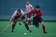 Southgate v Teddington - Men's Hockey League, East Conference, Trent Park, London, UK on 12 November 2016. Photo: Simon Parker