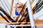 BERLIJN, 06-07-2021, Gropius Bau<br /> <br /> Koning Willem Alexander en Koningin Maxima tijdens het Staatsbezoek aan Duitsland. Het bezoek aan Berlijn vormt de afronding van een reeks deelstaatbezoeken die het Koninklijk Paar sinds 2013 aan Duitsland heeft gebracht. <br /> FOTO: Brunopress/Patrick van Emst<br /> <br /> King Willem Alexander and Queen Maxima during the state visit to Germany. The visit to Berlin concludes a series of state visits that the Royal Couple has made to Germany since 2013. FOTO: Brunopress/Patrick van Emst<br /> <br /> Op de foto / On the photo: Koningspaar bezoekt Tentoonstelling: Nieuwe Materialen – All Goods in Museum Gropius Bau /// Royal couple visits Exhibition: New Materials – All Goods in Museum Gropius Bau
