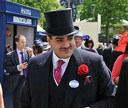 HH SHEIKH HAMAD BIN ABDULLAH AL THANI at day 1 of the 2011 Royal Ascot Racing festival at Ascot Racecourse, Ascot, Berkshire on 14th June 2011.