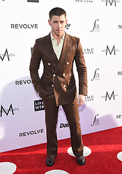 Guests arrive at the 3rd Annual Fashion LA Awards in Hollywood, California. 02 Apr 2017 Pictured: Nick Jonas. Photo credit: MEGA TheMegaAgency.com +1 888 505 6342