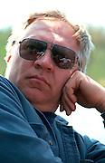 Portrait of a thoughtful man age 52.  Nisswa  Minnesota USA