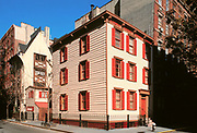Bedford Street House, Greenwich Village, Manhattan, New York