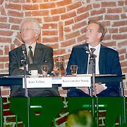 Debatavond politieke partijen met 4 kamerleden Erfgooierscollege Huizen, Kars Veling en Kees van der Staaij