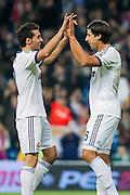 Khedira goal and greetings from Arbeloa