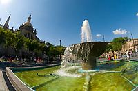 The Plaza de Armas (square) in the historic Center of Guadalajara, Jalisco, Mexico