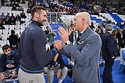 Moraschini Riccardo, Guido Bagatta<br /> Italia Italy - Lituania Lithuania<br /> FIBA World Cup 2019 Qualifiers<br /> FIP 2018<br /> Brescia, 29/11/2018<br /> Foto M.Longo / Ciamillo-Castoria