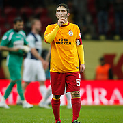 Galatasaray's Sabri Sarioglu during their Turkey Cup matchday 3 soccer match Galatasaray between AdanaDemirspor at the Turk Telekom Arena at Aslantepe in Istanbul Turkey on Tuesday 10 January 2012. Photo by TURKPIX