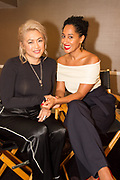 Performer Milck aka Connie Lim and Tracee Ellis Ross