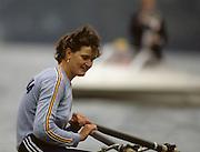 Bled, Slovenia, YUGOSLAVIA. ROM W1X. Elisabeta LIPA-OLENIUC,1989 World Rowing Championships, Lake Bled. [Mandatory Credit. Peter Spurrier/Intersport Images]