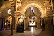 Cordoba, Andalucia, Spain interior of La Mezquita The Great Mosque