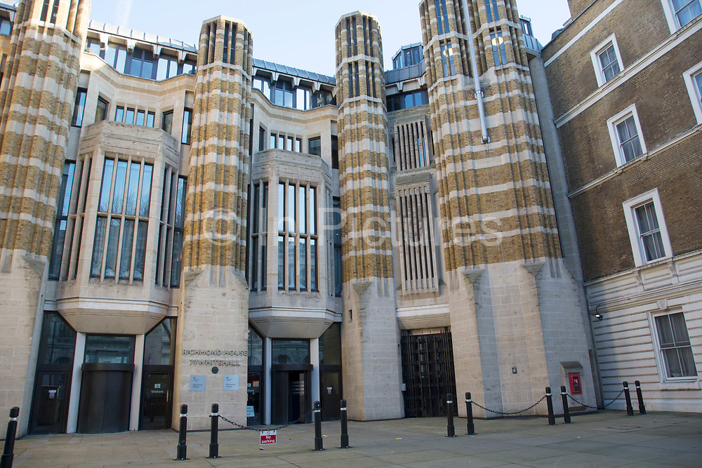 Department of Health on Whitehall in London, England, United Kingdom. The Department of Health, DH, helps people to live better for longer. We lead, shape and fund health and care in England, making sure people have the support, care and treatment they need.