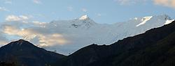 THEMENBILD - Trekkingtour in Nepal um die Annapurna Gebirgskette im Himalaya Gebirge. Das Bild wurde im Zuge einer 210 Kilometer langen Wanderung im Annapurna Gebiet zwischen 01. September 2012 und 15. September 2012 aufgenommen. im Bild der Gipfel der 7937 m hohen Annapurna II, der sechzehthöchste Berg der Welt // THEME IMAGE FEATURE - Trekking in Nepal around Annapurna massif at himalaya mountain range. The image was taken between september 1. 2012 and september 15. 2012. Picture shows Annapurna II, the 16th highest mountain on earth, NEP, EXPA Pictures © 2012, PhotoCredit: EXPA/ M. Gruber