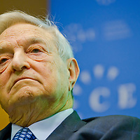 George Soros at CEU univerity in Budapest 2011