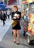 Bella Thorne Visits New York Midtown Studio