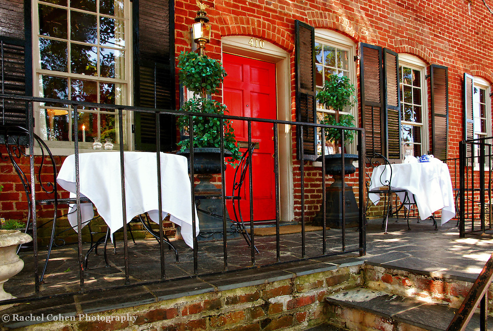 """""""At Court Square""""<br /> <br /> The lovely Inn at Court Square in Charlottesville VA during summertime!!<br /> <br /> Architecture: Structures and buildings by Rachel Cohen"""