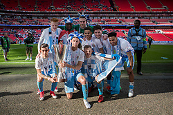 - Photo mandatory by-line: Jason Brown/JMP -  02/04//2017 - SPORT - Football - London - Wembley Stadium - Coventry City v Oxford United - Checkatrade Trophy Final