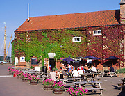AMFY29 Cafe Snape Maltings Suffolk England