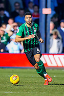 Coventry City defender Jordan Willis (4) on the ball during the EFL Sky Bet League 1 match between Luton Town and Coventry City at Kenilworth Road, Luton, England on 24 February 2019.