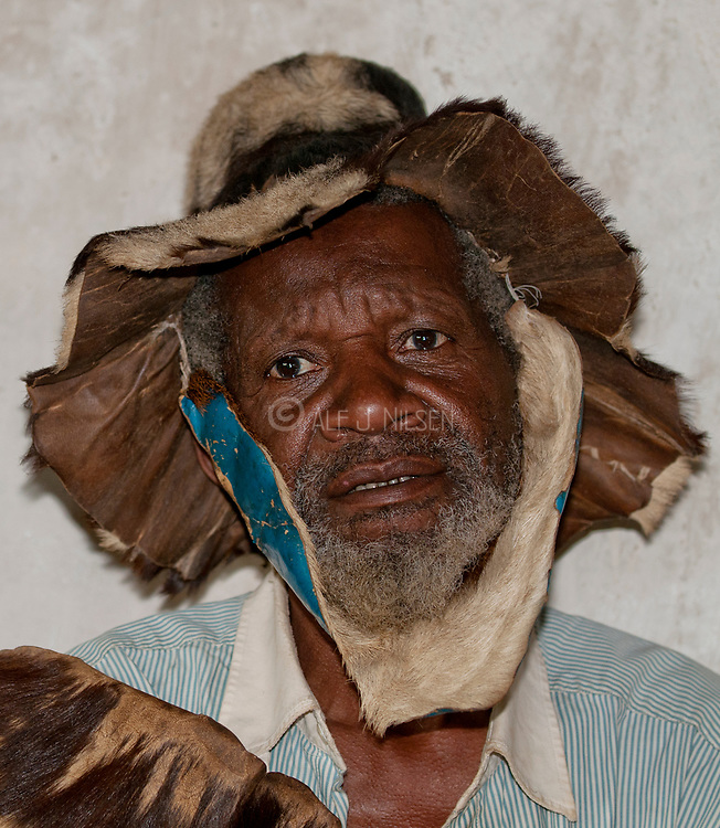 Medicine man from Bwindi, Uganda.