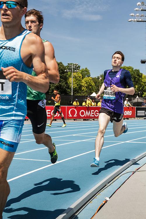adidas Grand Prix Diamond League Track & Field: Men's 800m, Duane Solomon walks off track DNF