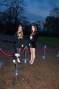 OLYMPIA CAMPBELL; LARA SKEET, Cartier Tank Anglaise launch. Kensington Palace Orangery, London.  19 April 2012.