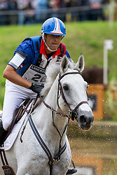 Cedric Lyard, (FRA), Cadeau du Roi - Eventing Cross Country test- Alltech FEI World Equestrian Games™ 2014 - Normandy, France.<br /> © Hippo Foto Team - Leanjo de Koster<br /> 30/08/14