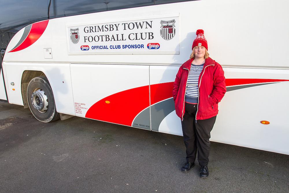 Kristine Green of Grimsby Town football club