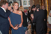 HUGO BERNAND; SAFFRON ALDRIDGE; PETER MARINO; YVES CARCELLE, Louis Vuitton openingof New Bond Street Maison. London. 25 May 2010. -DO NOT ARCHIVE-© Copyright Photograph by Dafydd Jones. 248 Clapham Rd. London SW9 0PZ. Tel 0207 820 0771. www.dafjones.com.