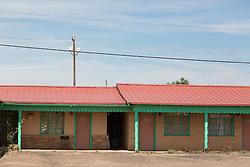 rural motel on Route 66 in Tucumcari, New Mexico