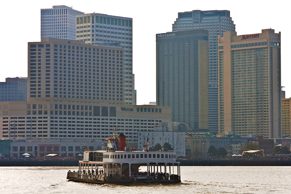 Algiers-Canal St. Ferry, New Orleans, Louisiana, USA