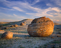 Mineral Concretions, Red Rock Coulee Natural Area Alberta Canada