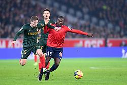 March 15, 2019 - Lille, France - 15 ADRIEN PERRUCHET DA SILVA (MONA) - 19 NICOLAS PEPE  (Credit Image: © Panoramic via ZUMA Press)