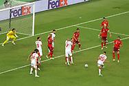Mert Muldur of Turkey during the UEFA Euro 2020, Group A football match between Switzerland and Turkey on June 20, 2021 at Baku Olympic Stadium in Baku, Azerbaijan - Photo Orange Pictures / ProSportsImages / DPPI