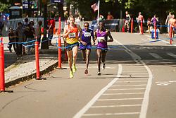 UAE Healthy Kidney 10K, True, Sambu, Mutai with quarter mile to go