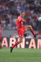 Fotball, Liverpool's Sami Hyypia in action during at the Amsterdam Tournament, in Holland.  (Foto: Digitalsport).