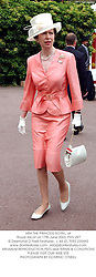 HRH THE PRINCESS ROYAL, at Royal Ascot on 17th June 2003.PKN 297
