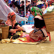 Market scene at northern Vietnam