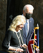 Joe Biden and First LadySacred Heart and St. Ia Catholic Church