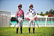 April 7, 2012 - Gus Dahl and Brian Crowley at Stoneybrook Steeplechase, Raeford NC