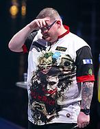 John O'Shea  during the BDO World Professional Championships at the O2 Arena, London, United Kingdom on 5 January 2020.