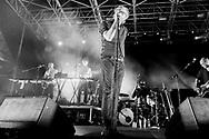 The National at Vasto Siren Festival in Vasto on July 25 2014. Eliano Imperato / Controluce