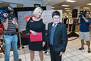 The Macy's Believe Launch Friday, Nov. 6, 2015 at the Believe Station in Macy's Oxmoor in Louisville, Ky. (Brian Bohannon/AP Images for Macy's)