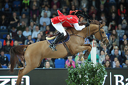 Smolders Harrie, (NED), Eh Quick Nina<br /> Speed and handiness competition with costumes<br /> Stuttgart - German Masters 2015<br /> © Hippo Foto - Stefan Lafrentz